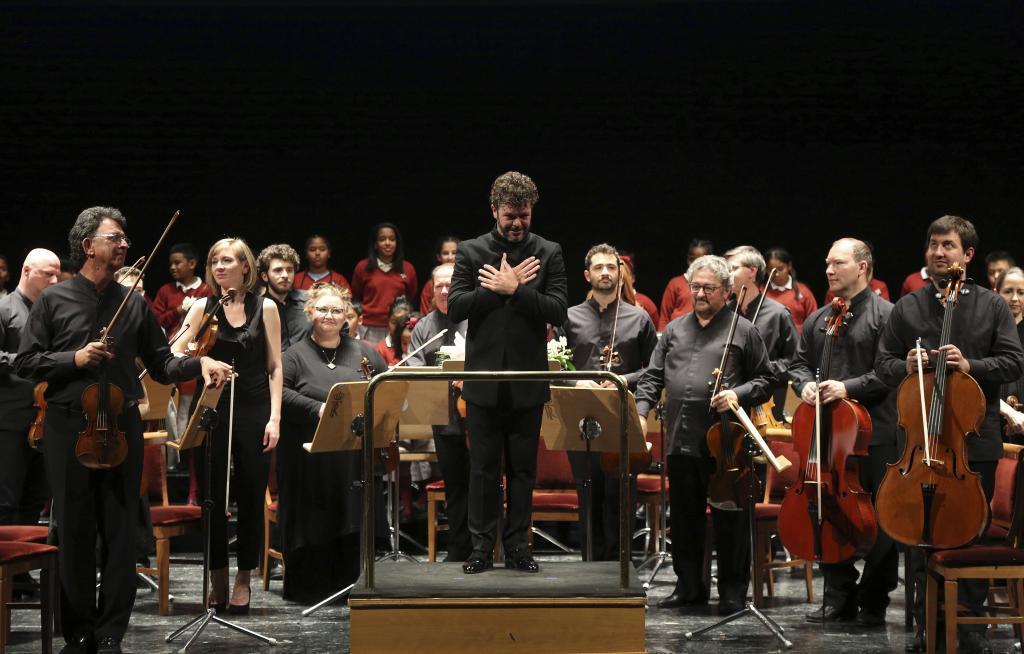 El director de orquesta Pablo Heras-Casado, en un concierto pasado.