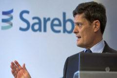 El presidente de la Sociedad de activos procedentes de la reestructuración bancaria (Sareb), Jaime Echegoyen