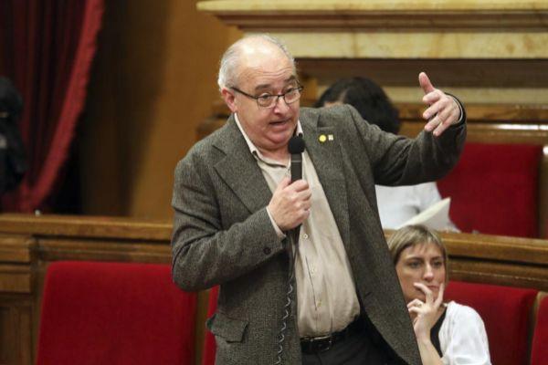 El conseller de Educación Josep Bargalló.