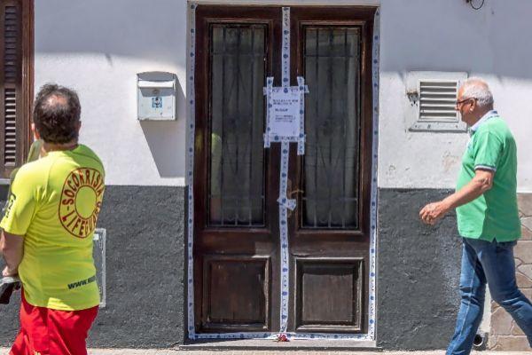 Vivienda de la Carretera Militar de s'Arenal en la que fue hallado el cadáver de Gloria Zavala.
