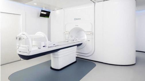 Acelerador lineal con resonancia magnética que instalará el Hospital La Paz de Madrid con la donación de Amancio Ortega.