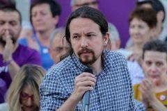 23/05/2019 El secretario general de Podemos, <HIT>Pablo</HIT> <HIT>Iglesias</HIT>, interviene en el acto de campaña de Podemos en la Plaza del 2 de Mayo en Madrid POLITICA Ricardo Rubio - Europa Press