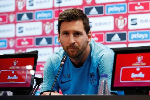 Copa del Rey Final - FC Barcelona Press Conference