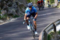 Mikel Landa, durante la etapa del Giro.