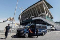 La Policía detiene a 23 ultras en Sevilla tras disturbios previos