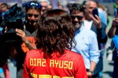 La 'popular' Isabel Díaz Ayuso.