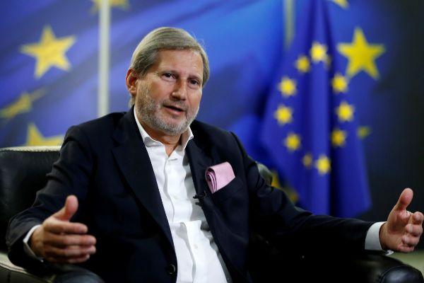 Johannes Hahn, comisario europeo para la Política de Vecindad.