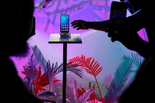 Presentación del Huawei Honor 20, en Londres.
