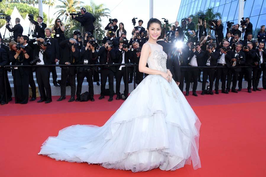 Emmanuelle Devos Gala De Clausura Del Festival De Cannes