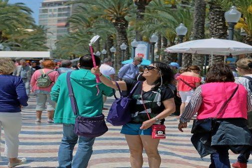 Turistas en Alicante