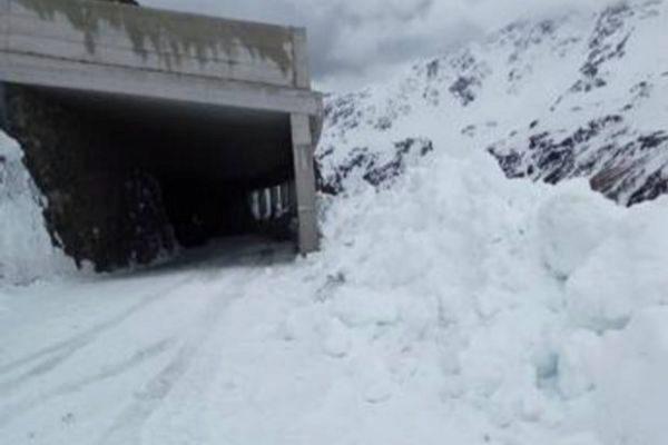 Nieve en el Gavia, en una imagen de la semana pasada.