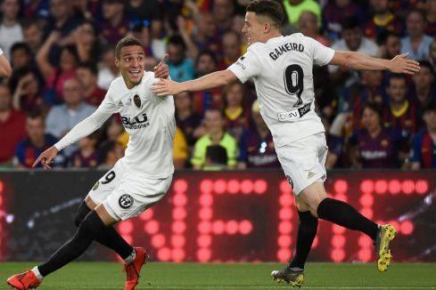 El Valencia tumba al Barça y conquista su séptima Copa del Rey