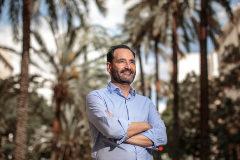 El propietario de Marina Beach, Antonio Calero, que batalla contra TripAdvisor.