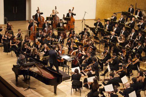 Una imagen del concierto en el ADDA