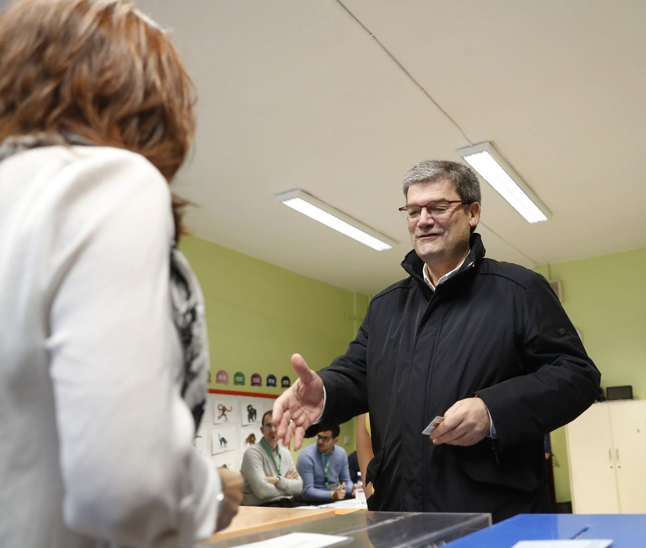 Juan Mari Aburto, candidato del PNV en Bilbao.