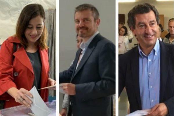 Votan los candidatos y piden al electorado que se movilice