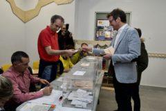 Gorka Urtaran, candidato del PNV a la alcaldía de Vitoria.