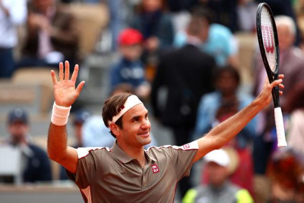 PARIS, FRANCE - MAY 26: Rodger <HIT>Federer</HIT> of Switzerland...