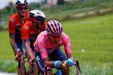 Carapaz, durante la etapa 15 del Giro.
