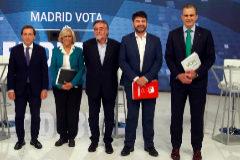 Martínez-Almeida, Carmena, Hernández, Sánchez Mato y Ortega Smith.