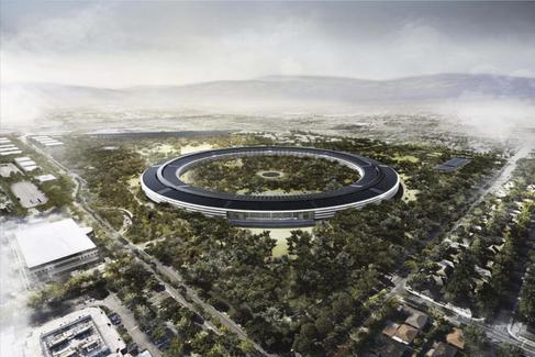 La sede de Apple de Norman Foster.