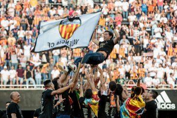 Marcelino logra hacer cumbre con el Valencia
