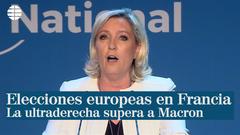 La ultraderecha supera a Macron en las elecciones europeas