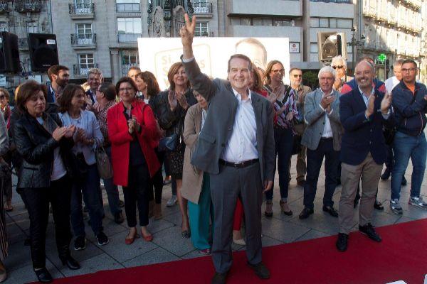 El alcalde de Vigo Abel Caballero (PSOE).