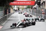 Hamilton sabe sufrir en Mónaco, donde Sainz caza un gran sexto puesto