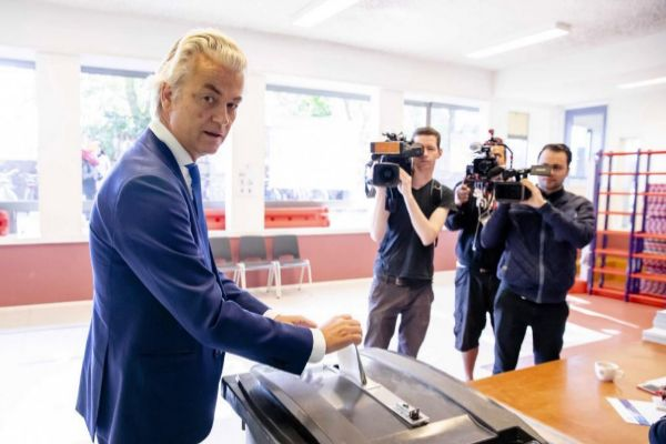 El líder del ultraderechista Partido de la Libertad, Geert Wilders.