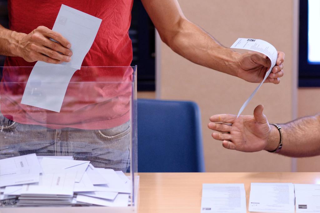 Colegio electoral en las elecciones municipales