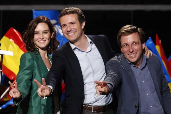 GRAF9016. MADRID, 26/05/2019.- El presidente del Partido Popular Pablo...