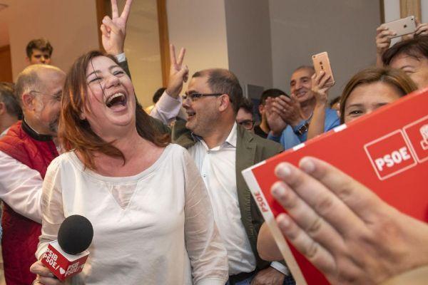 El PSIB es por primera vez el partido más votado y podrá volver a gobernar con el Pacte de izquierdas