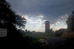 Carretera sin salida en Johannesburgo