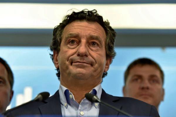 El presidente del PP, Biel Company, tras conocer los resultados.