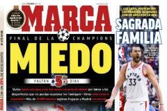 Así vienen las portadas: el Barça, la final de Champions, Marc Gasol,...
