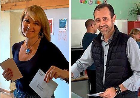 Rosa Estarás y José Ramón Bauzá.