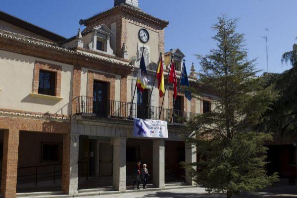 El Ayuntamiento de las Rozas.