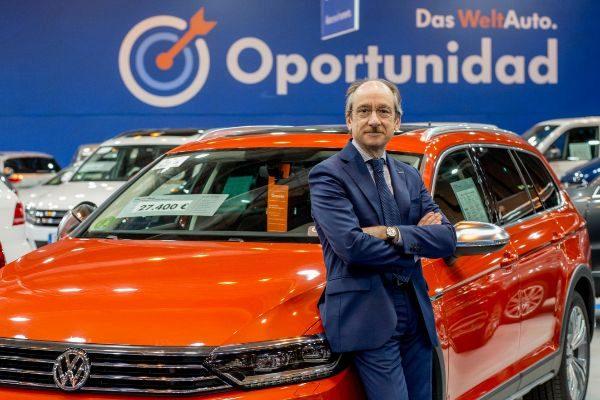 El director general de Das Welt Auto, Antonio García.