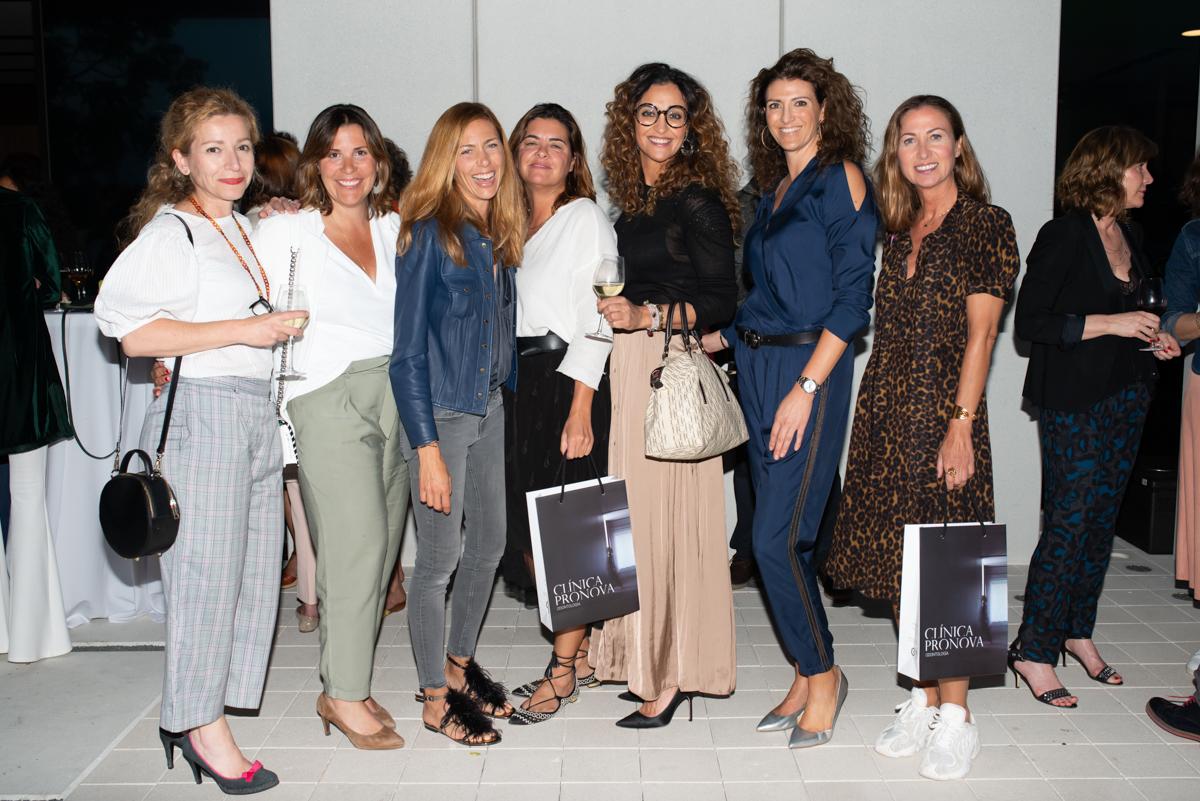 Mercedes Estarellas, Catalina Marqués, Estefania Pomar, Sofia Calvet, Isabel Reynes, Marta Ferrer y Cristina Morgues.