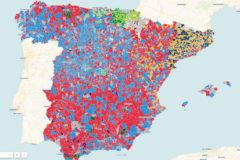 Los resultados en cada municipio