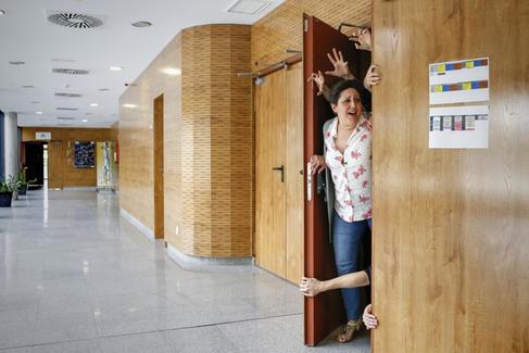 La matemática Anabel Forte, recientemente en Madrid.