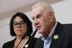 Jordi Soteras Catalunya Barcelona 27/05/2019 Rueda de prensa de <HIT>Ernest</HIT> Maragall y de la eurodiputada Marta Vilalta en la sede de ERC Foto Jordi Soteras