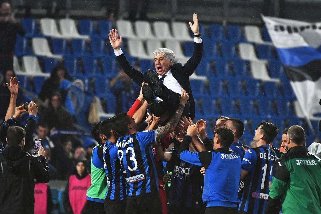 Reggio Emilia (Italy).- <HIT>Atalanta</HIT>&apos;s head coach Gian Piero...