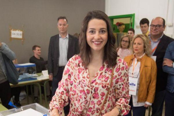 La líder de Cs en Cataluña y portavoz nacional del partido, Inés...