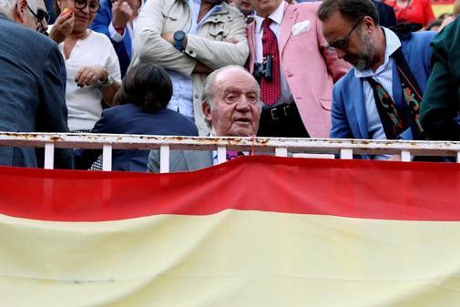 El Rey Juan Carlos, en un festejo taurino en la feria de San Isidro