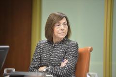 La exdirectora de Osakidetza, María Jesús Múgica.