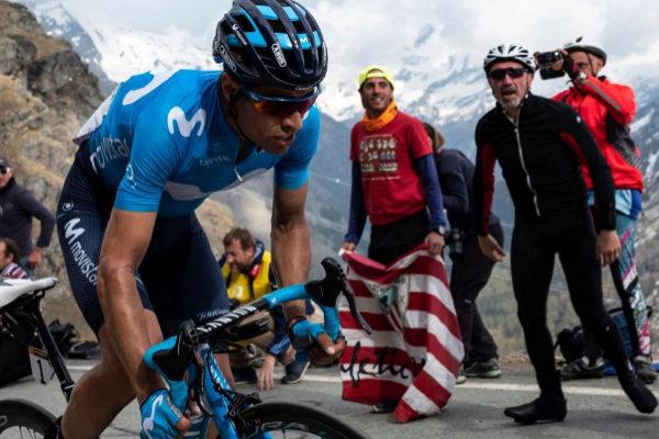Landa, durante la primera etapa de montaña de este Giro.