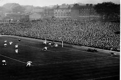 Highbury, el viejo estadio del Arsenal, en 1950.