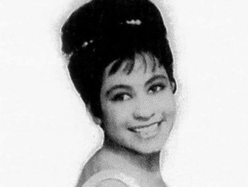Rebeca Méndez Jiménez, en cuya vida está inspirada la canción 'El muelle de San Blas', en su época de cantante.
